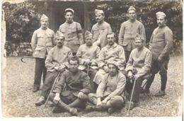 Soldats Chalons Sur Marne Décembre 1918 - War 1914-18