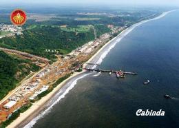 Angola Cabinda Exclave Cabinda City Port New Postcard - Angola