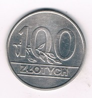 100 ZLOTYCH 1990  POLEN /695/ - Polonia