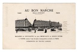Très Rare Chromo Menu (!) Au Bon Marché, Ne Pas Cataloguisé, Imprimeur ?, 1913 - Au Bon Marché