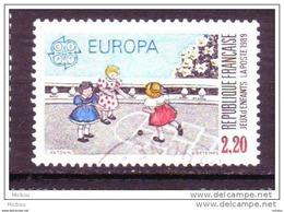 France, Europa, Enfant, Feux, Marelle, Game, Children - Europa-CEPT