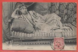 TUNISIE CARTE DE 1905 DE TUNIS POUR DJIBOUTI COTE DES SOMALIS - Storia Postale
