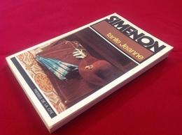 """1977, SIMENON, """"TANTE JEANNE"""", ÉDITIONS PRESSES DE LA CITÉ - Simenon"""