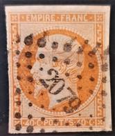 FRANCE 1853 - Canceled - YT 16 - 40c - 1853-1860 Napoleon III
