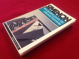 """1977, SIMENON, """"LES QUATRE JOURS DU PAUVRE HOMME"""", ÉDITIONS PRESSES DE LA CITÉ - Simenon"""