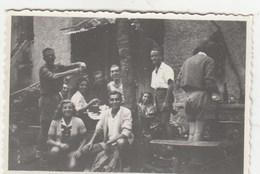 CAMPENAVE - GENOVA-FOTOGRAFIA COMITIVA --1946 - DIMENSIONI 6X9 CM . CIRCA- - Anonieme Personen