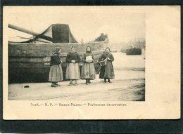 CPA - BERCK PLAGE - Pêcheuses De Crevettes  (dos Non Divisé) - Berck