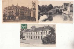 CPA - France 45 - Montargis   - 3 Cartes :  Achat Immédiat - (cd024 ) - Montargis