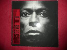 LP N°1680 - MILES DAVIS - TUTU - COMPILATION 8 TITRES - Jazz