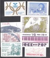 Sweden 1991 - 8 Booklets, (Mi-Nr. MH 157, 158, 160, 161, 162, 163, 165, 166), MNH**(scan) - Booklets