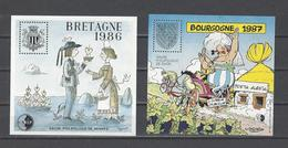 FRANCE. YT Bloc C.N.E.P N° 7-8  Neuf **  1986-87 - CNEP