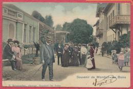 Souvenir De Mondorf-les-Bains  Luxembourg - Couleur 1905 - Edit. N. Schumacher N° 8725 - Mondorf-les-Bains