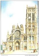 76 - Dieppe : L'Eglise Saint Jacques - Illustrateur Barday - Editions Barré & Dayez - Barday