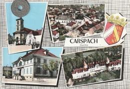 68 - Carte Postale Semi Moderne Dentelée De  CARSPACH     Multi Vues - Other Municipalities