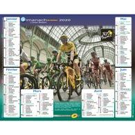 Calendrier Cartier Bresson Almanach La Poste PTT 2020 Cyclisme Tour De France - Calendriers