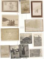 Lot De 31 Photos De Famille Situées à Chamonix, Certaines Datées Au Dos 1917, 1920, 1926, 1934... - Lieux