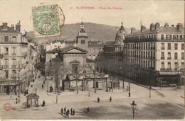 42 - SAINT-ÉTIENNE - PLACE DES URSULES - Saint Etienne