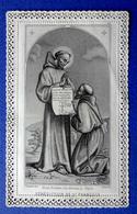 IMAGE PIEUSE , RELIGIEUSE...... CANIVET......ED. ALCAN.......BÉNÉDICTION DE SAINT FRANCOIS D' ASSISE - Imágenes Religiosas