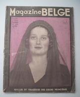 MAGAZINE BELGE : 1935 - LA REINE ASTRID DE BELGIQUE . LA BELGIQUE EN DEUIL . 115 PHOTOS .. - Journaux - Quotidiens