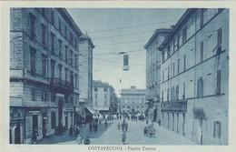 CIVITAVECCHIA-ROMA-PIAZZA CAVOUR-CARTOLINA NON VIAGGIATA ANNO 19520-1930 - Civitavecchia
