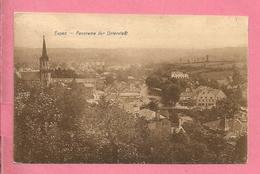 C.P. Eupen  =   Panorama  Der Unterstadt - Eupen