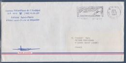 = Flamme 50ème Anniversaire Noël 1941 Saint Pierre Et Miquelon Saint Pierre P.P. 27.12.1991 - St.Pierre Et Miquelon