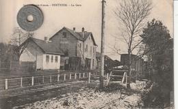 68 - Carte Postale Ancienne De SENTHEIM    La Gare - Frankreich