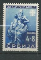 Serbie OCCUPATION ALLEMANDE Yvert   N° 65 ** -  Ad 40906 - Serbia