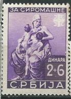 Serbie OCCUPATION ALLEMANDE Yvert   N° 64 ** -  Ad 40907 - Serbia
