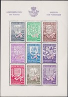 Belgie  .  OBP .    Blokken 10/10A  (2 Scans)    .   **    .      Postfris    . /  .   Neuf SANS  Charniere - Blocs 1924-1960