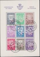 Belgie  .  OBP .    Blokken  10/10A  (2 Scans)    .   O    .      Gebruikt    .    /  .    Oblitéré - Blocs 1924-1960