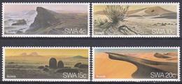 Südwestafrika SWA Namibia 1977 Wirtschaft Economy Tourismus Tourism Landschaften Landscapes Wüsten Deserts, Mi. 427-0 ** - África Del Sudoeste (1923-1990)