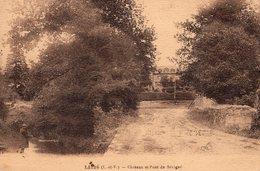 Liffré (35) - Le Château Et Pont De Sérigné. - Other Municipalities
