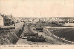 29 - CAMARET - LE PORT À MARÉE BASSE - Camaret-sur-Mer