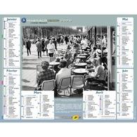 Calendrier Cartier Bresson Almanach La Poste PTT 2020 Robert Doisneau - Calendriers