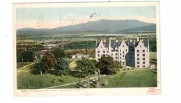 BURLINGTON, Vermont, USA, Mt. Mansfield From University Grounds,1906 UB Postcard - Burlington