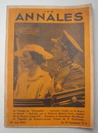 LES ANNALES.1935 : EXPOSITION BRUXELLES - LEOPOLD & ASTRID . LE NORMANDIE . LAWRENCE D'ARABIE .FACHODA . MAYAS . - Journaux - Quotidiens