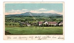 BURLINGTON, Vermont, USA, Camel's Hump,1906 UB Postcard - Burlington