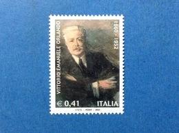 2002 ITALIA VITTORIO EMANUELE ORLANDO FRANCOBOLLO NUOVO ITALY STAMP NEW MNH** - 2001-10: Mint/hinged