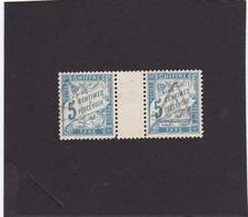 Timbre Taxe N°28 Yvert Et Tellier (avec Pont) Voir Oblitération - 1859-1955 Afgestempeld