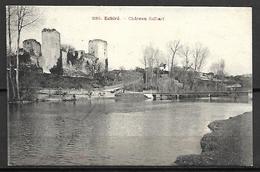 ECHIRE     -   1907  .   Château  Salbart.    Pont. - Sonstige Gemeinden