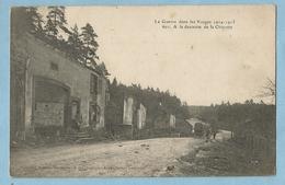 A077   CPA  MENIL-sur-BELVITTE  (Vosges)  A La Descente De La Chipotte   - La Guerre Dans Les Vosges 1914-1915   +++ - France