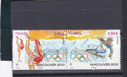 P 4436  NEUF (2010) Jeux Olympiques D'hiver De Vancouver - Used Stamps