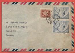 FORMOSE LETTRE DE 1956 DE TAIPEI POUR PARIS FRANCE - Lettres & Documents