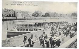 BELGIQUE  NAMUR  Arrivée Du Bateau Touriste à Namur - Namur