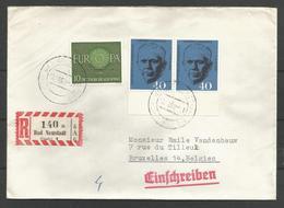 Deutschland - 1960 - Bad Neustadt (Saale) - Einschreiben - Europa - Georges C Marshall - Covers