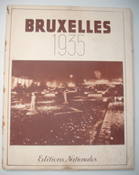 EXPOSITION BRUXELLES 1935 .  ALBUM De 145 PHOTOS . - Journaux - Quotidiens