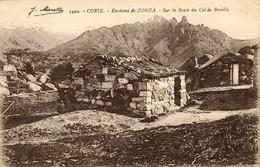 CORSE  -  BERGERIES Sur La Route Du Col De Bavella - Francia