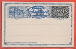 GUATEMALA ENTIER POSTAL 3 CENTAVOS NEUF - Guatemala