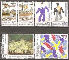 France - 1994 - Relations Culturelles France-Suède – Emission Commune - YT 2866 à 2871 Neufs Sans Charnière - MNH - France